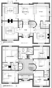 kilkenny_west_plans1 dwelling house athlone, co. westmeath architects design