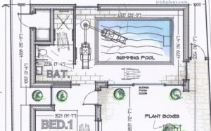 architects-sketch-design-for-hydrotherapy-swimming-pool-by-irishplans.com-dublin-300x187 Home Extensions architects design